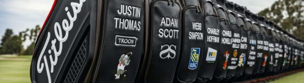 personalised embroidered golf bags