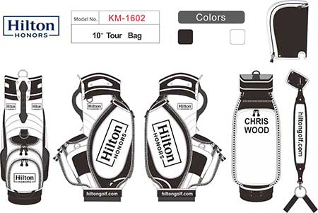 Image of custom golf bag