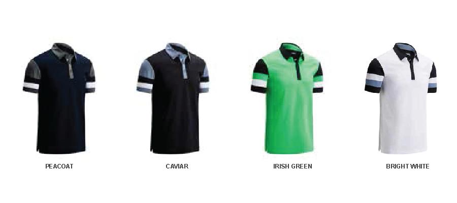 Colours for Callaway Colourblock polo