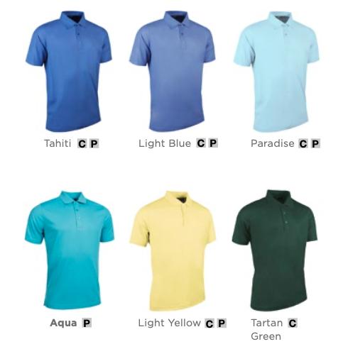 Colours for the Glenmuir Deacon Polo