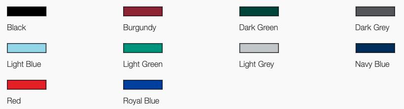 Bedford Soft Feel Pistol Grip Handle Colours