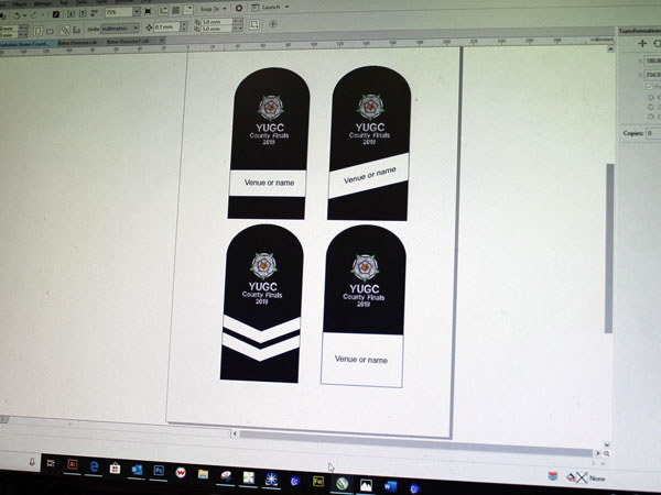 Image of concept designs for headcovers