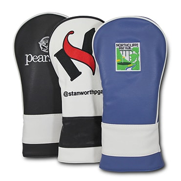 image of embroidered golf headcovers