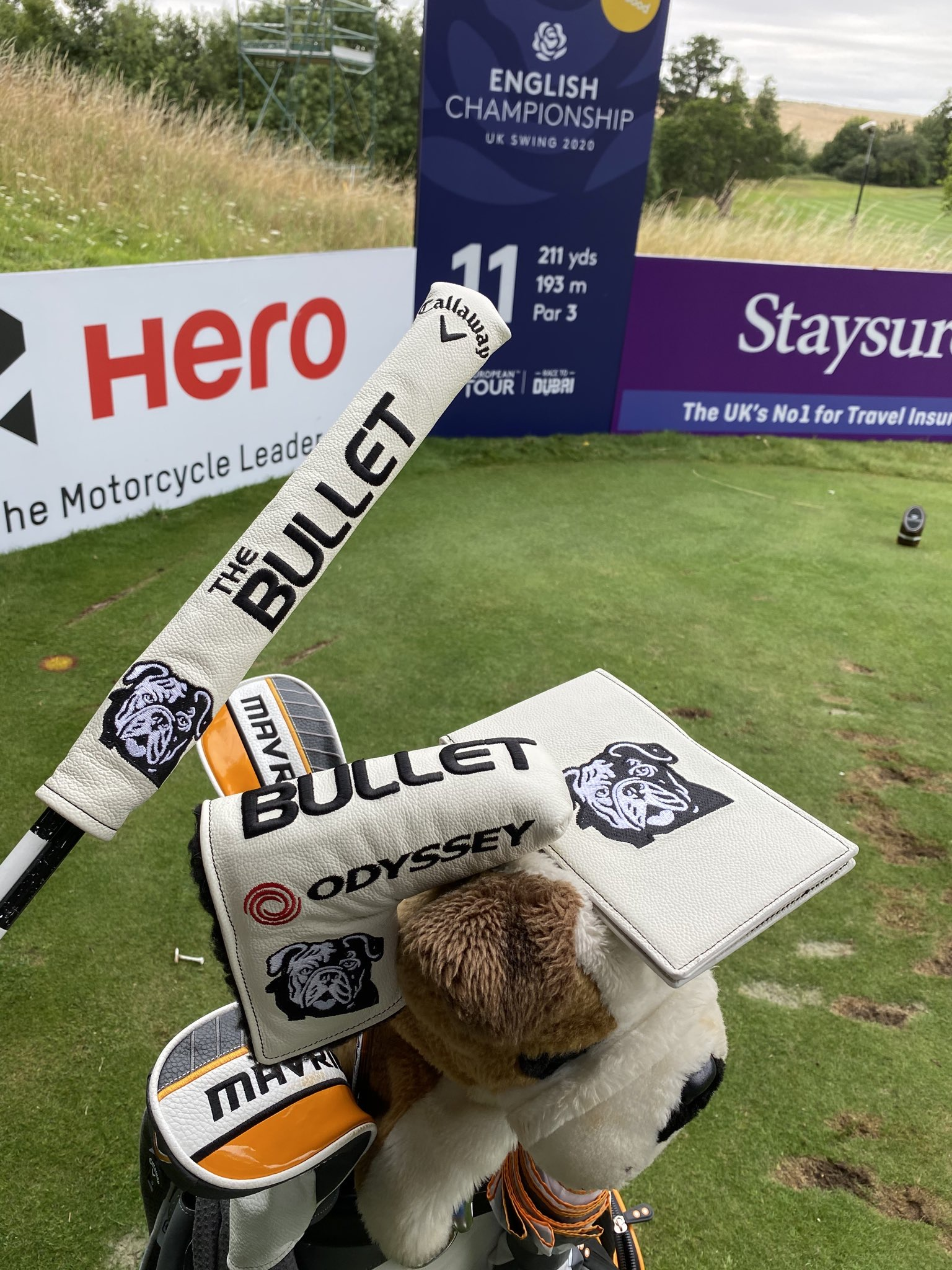 Custom Golf Products for 'The Bullet'